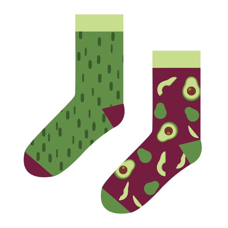 Two different socks thumbnail